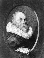 Petrus Scriverius, 1576 - 1660, Dutch writer and scholar