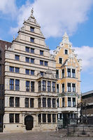 Hanover - Leibniz House and Nolte House