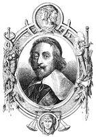 cardinal Richelieu, 1585 - 1642, a French clergyman