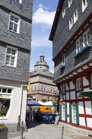 historic old town of Herborn, Germany