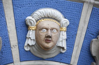 Renaissance portal, Brunswick, Germany