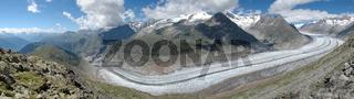 Grosser Aletschgletscher - Ewiges Eis, schroffe Be