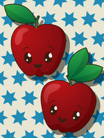 Kawaii apple icons