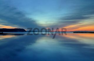 Sonnenuntergang Insel Rügen