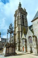 The parish of Saint-Thegonnec, Brittany, France.