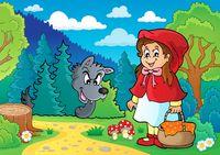 Fairy tale theme image 1 - picture illustration.