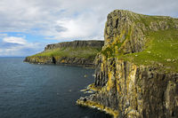 Cliff line on the Duirinish Peninsula,Isle of Skye