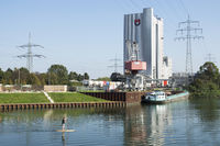 The City harbor in Recklinghausen, Germany