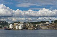nickel company Glencore Nikkelverk, Kristiansand