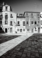 Traditional Venetian courtyard