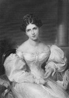 Frances Anne Fanny Kemble, 1809 - 1893, a British actress