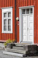 Norwegian house detail