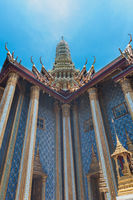 Bangkok kings palace ancient temple in thailand.