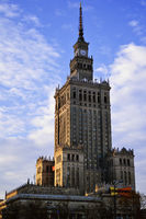 Palace of Culture and Science in Warsaw is the tallest building in Poland and the eighth tallest building in the EU