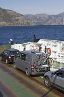 ferry with cars