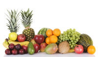 Fresh fruits composition.