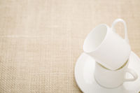 stacked espresso coffee cups