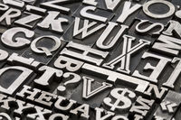 metal type abstract
