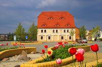 Grossraeschen Markt - Grossraeschen square 03