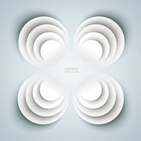 4 Bevel Circle in Circles Flower