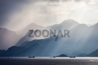 Turkey Taurus rock mountains landscape