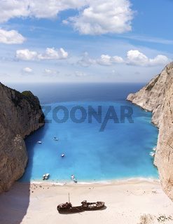 Shipwreck of the Navagio Beach Zakynthos - Greece
