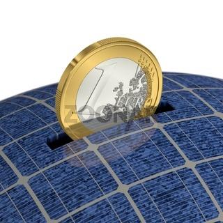 Sparen durch Solarenergie 1