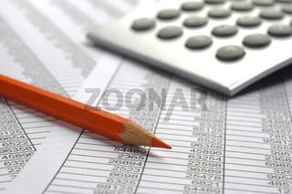 business finance chart