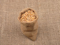 Getreidesack auf Jute  - Cereal bag on jute