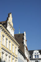 Buildings at the market place in Recklinghausen, G