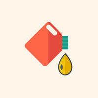 Oil Flat Icon