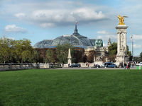 The Grand Palais (Big Palace) in Paris