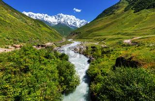 Caucasus mountains