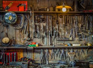 Vintage Tools Workshop