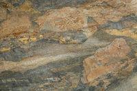 abstract landscape in slate rock