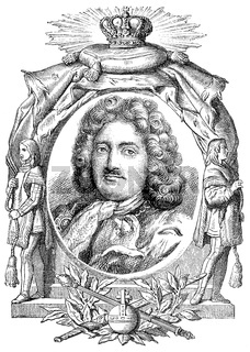 Frederick William I, 1688-1740, the King in Prussia