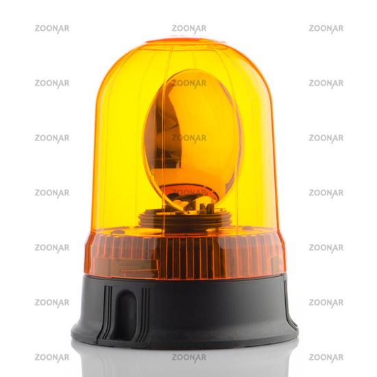Orange rotating beacon