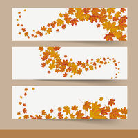 Three Autumn Banners PiAd