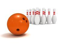 Ball and pin bowling