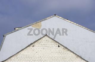 Dach und Dachabdruck, Winkel