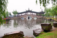 Stone bridge in Xi Tang Town
