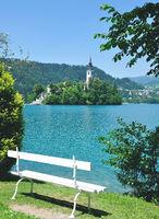 Church of Assumption,Lake Bled,Slovenia