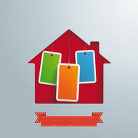 House Hole Price Stickers PiAd