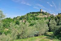 Montecatini near Volterra,Tuscany,Italy
