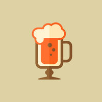 Cappuccino. Drink Flat Icon