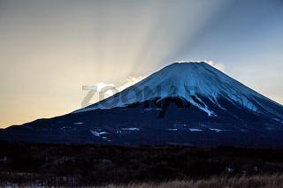 Mountain Fuji Sunrise