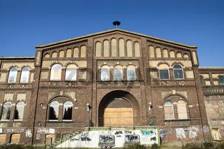 Strassenansicht der Zeche Ewald-Fortsetzung in Oer-Erkenschwick, Deutschland