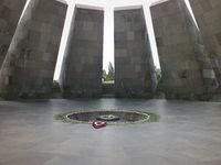 Eternal Flame at the Armenian Genociode Memorial