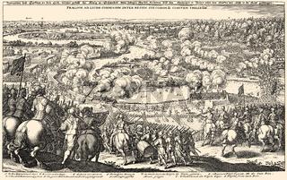The Battle of Rain, Thirty Years' War, 1632, Germany,