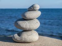 pebbles zen